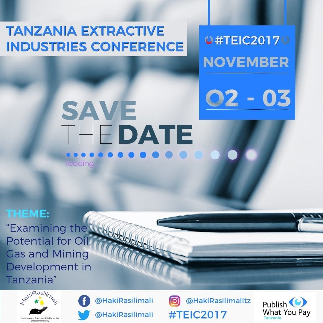 The Tanzania Extractive Industries Conference 2017