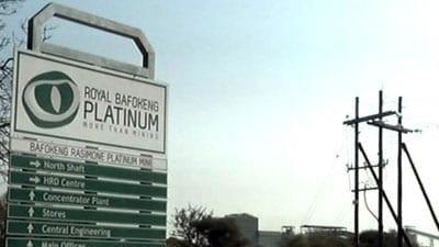 Royal Bafokeng ordered to suspend mining at North Shaft