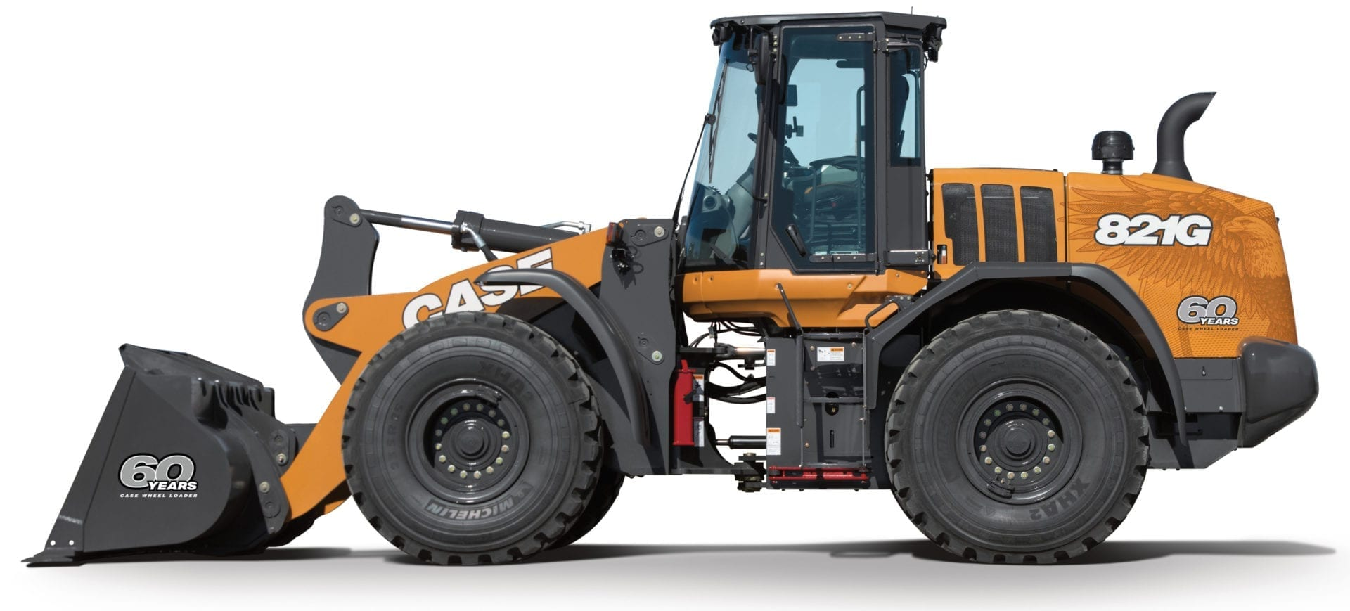 CASE celebrates 60 years of wheel loader manufacturing