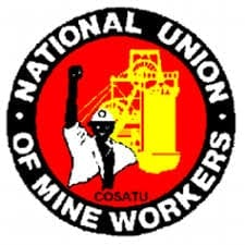 Eight NUM members arrested outside Optimum Coal Mine