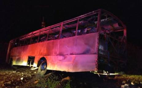NUM shocked by petrol bomb attack on bus in Limpopo