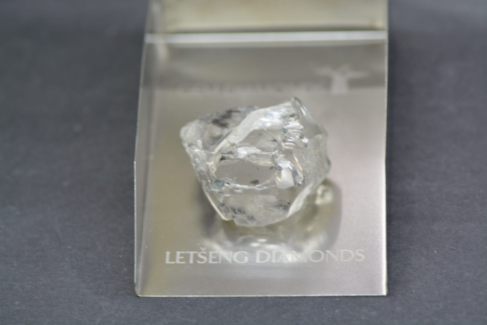 Recovery of 115 carat diamond