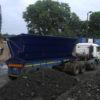SCA intermodal side tipper bin loaded on road vehicle for short road haul 2018