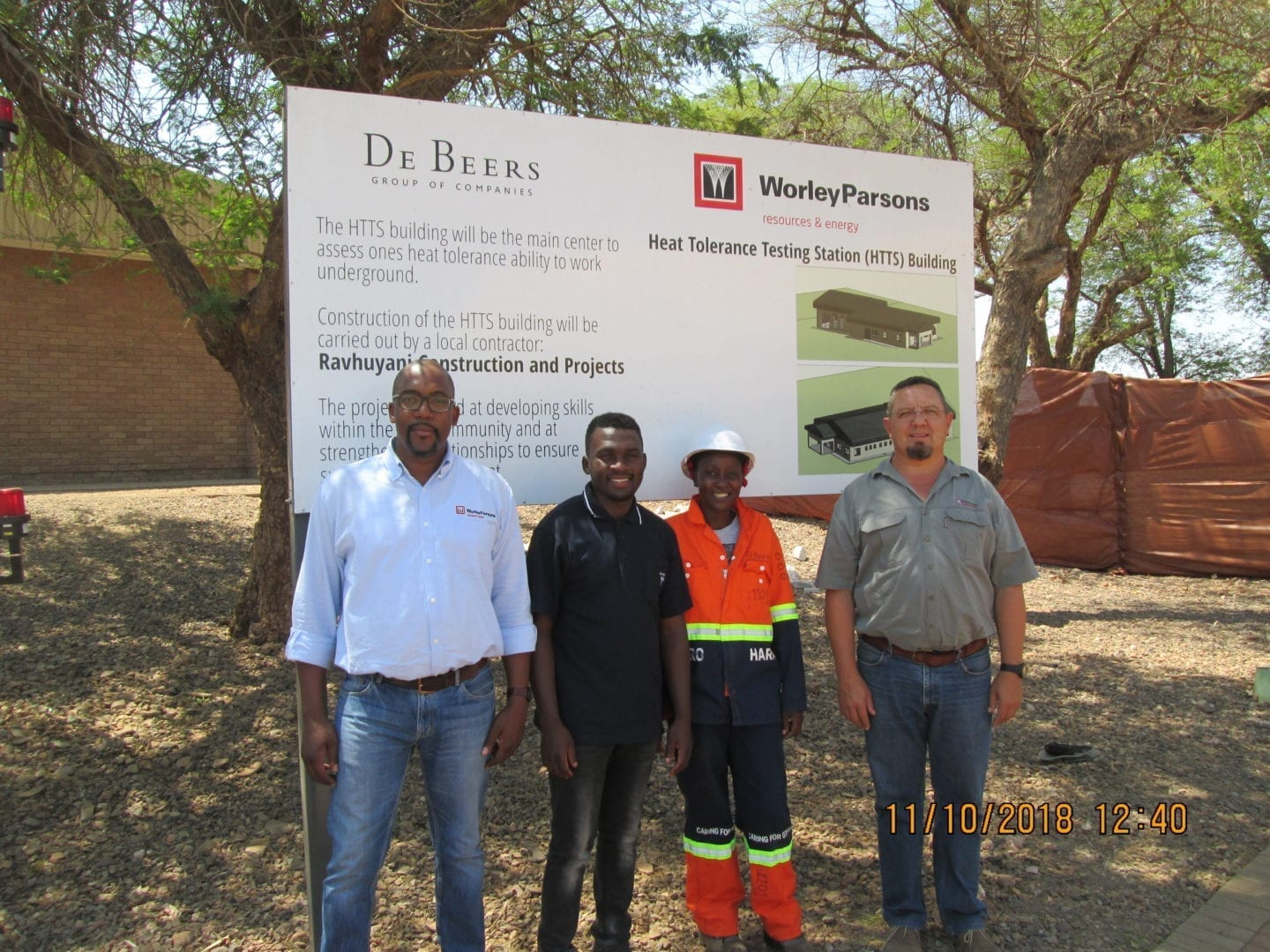 WorleyParsons supports local contractor constructing at Venetia mine