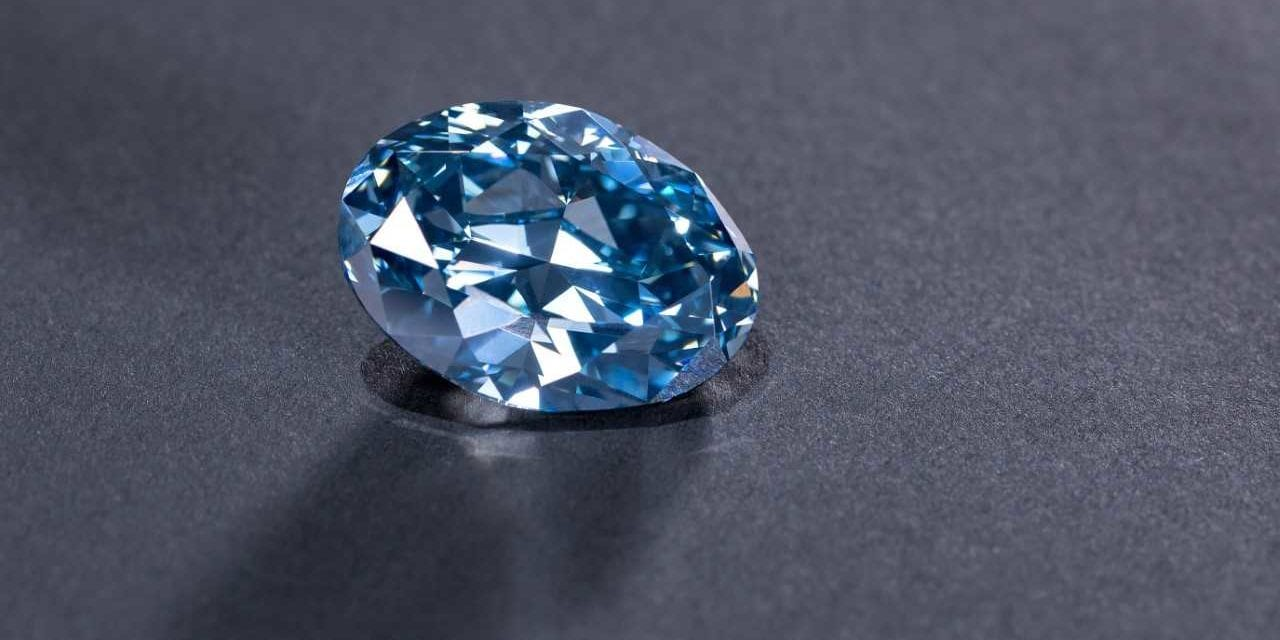 Okavango Diamond Company reveals 'The Okavango Blue'