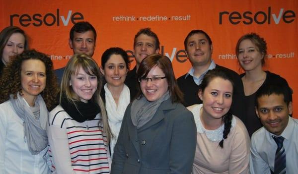 Resolve celebrates victory image