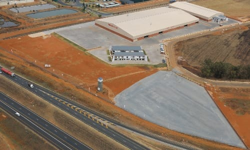Aerial view of new facility image
