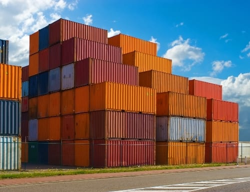 Cargo containers image