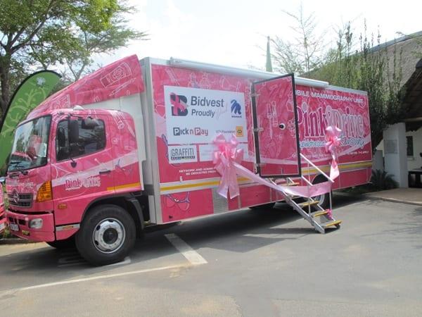PinkDrive truck image