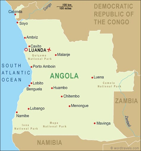 Angola And Namibia To Bridge Gaps Transport World Africa - Angola road map
