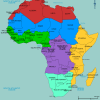 African map image