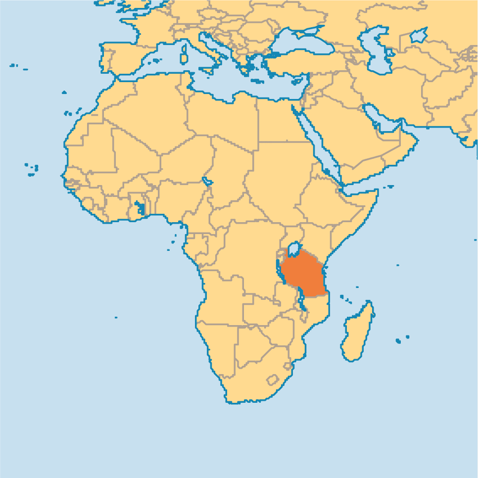 Huge investment in tanzania railway line transport world africa locomotives and wagons for tanzania railways tanzania map gumiabroncs Choice Image