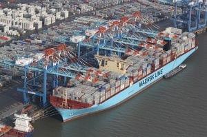 Maersk vessel image