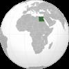 Egypt on map image