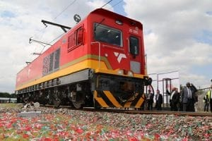 Transnet electric train