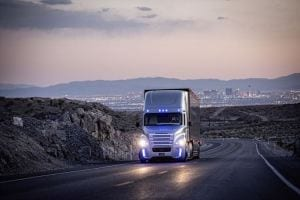 Freightliner Inspiration Truck - First autonomous driving on public roads