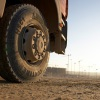 Continental truck tyre