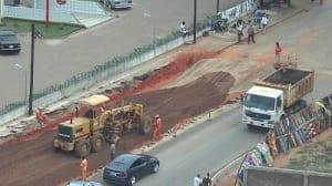 Maputo ring road construction