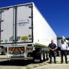 Serco semi-refrigerated trailer