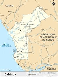 Cabinda map