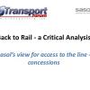 Sasol rail concessions