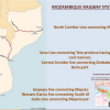 Mozambique railways map
