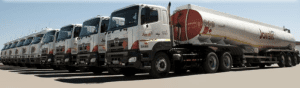 Crossroads distribution fuel tanker fleet