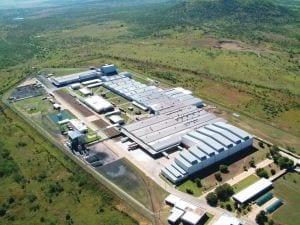 Dunlop Sumitomo Rubber plant in Ladysmith
