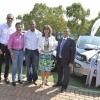 Siemens electric car handover