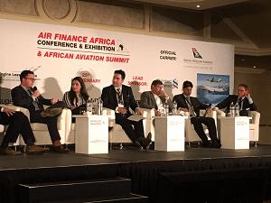 Air Finance Africa panel