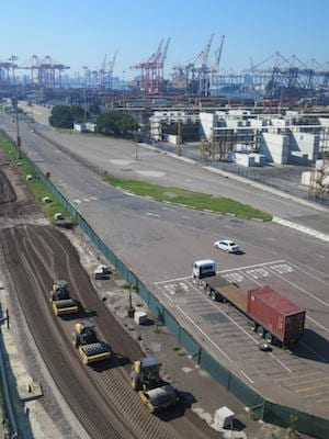 Durban port roads