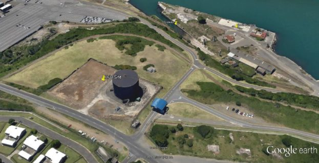 Aerial of HFO Site